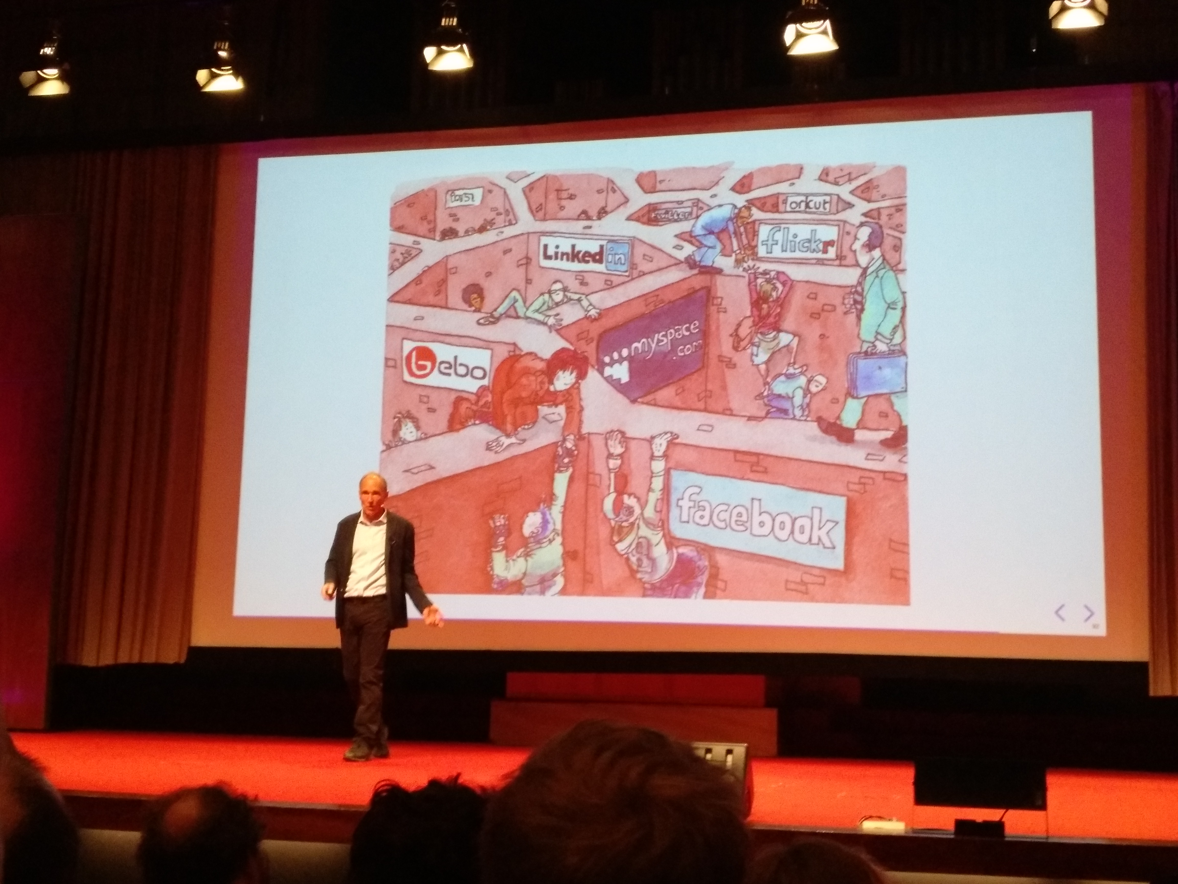 Tim Berners-Lee about the web